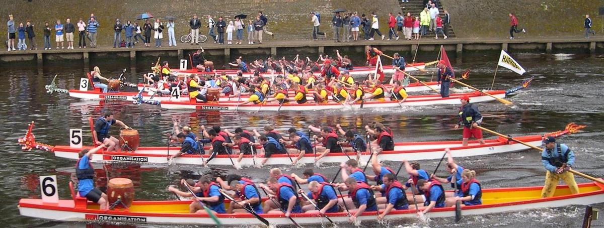 York Rotary Dragon Boat Race aims for £1M - York Dragon boat finale