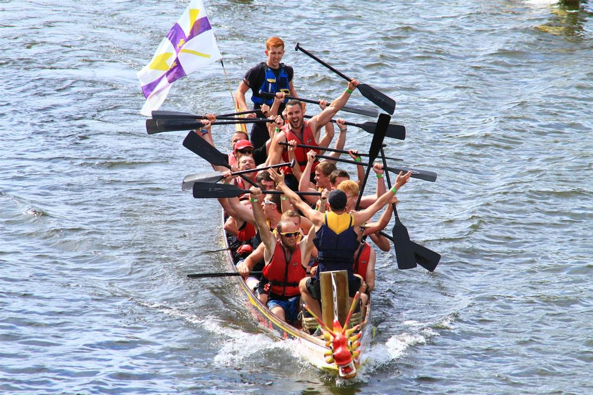 York Rotary Dragon Boat Race aims for £1M - York Dragon boat victory