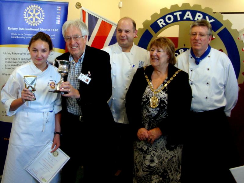 Fleet Young Chef wins Rotary National competition in Abingdon - 21 April 2012 - Young Chef 2012