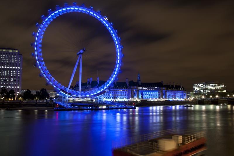 Young Photographer Competition 2013 - London Eye at Night