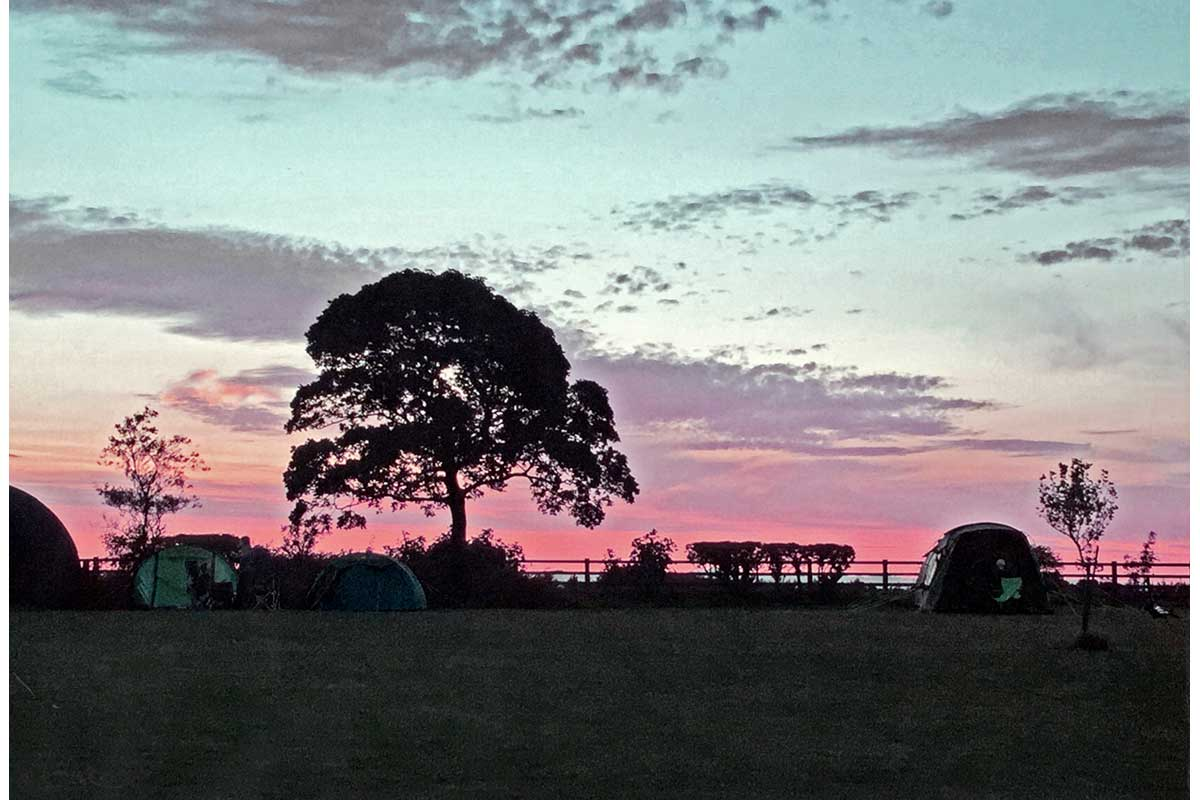 Young Photographers Competition - Campsite Sunset by Grace - Commended
