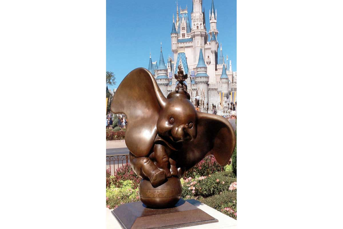 Young Photographers Competition - Dumbo and Timothy at Walt Disney World by Lauren - Commended