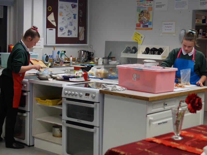 2015 Rotary Young Chef Competition - There's lots of preparation to do.