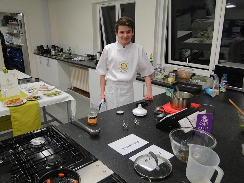 Young Chef 2016 - One of our contestants