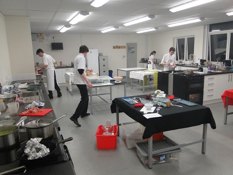 Young Chef 2016 - At work in the kitchen