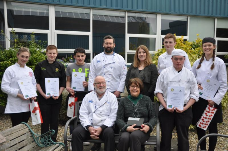 Young Chef Competition - 2016 Final Participants and Judges