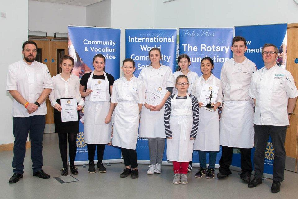 Rotary Young Chef Competition 2016-2017 -