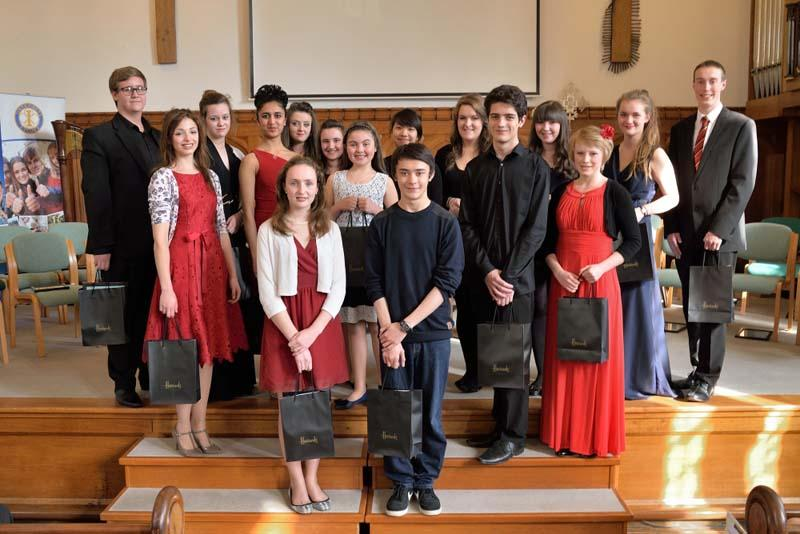 Robert wins RIBI Young Musician!   - 'A stupendous afternoon with outstanding performances from all these young people'