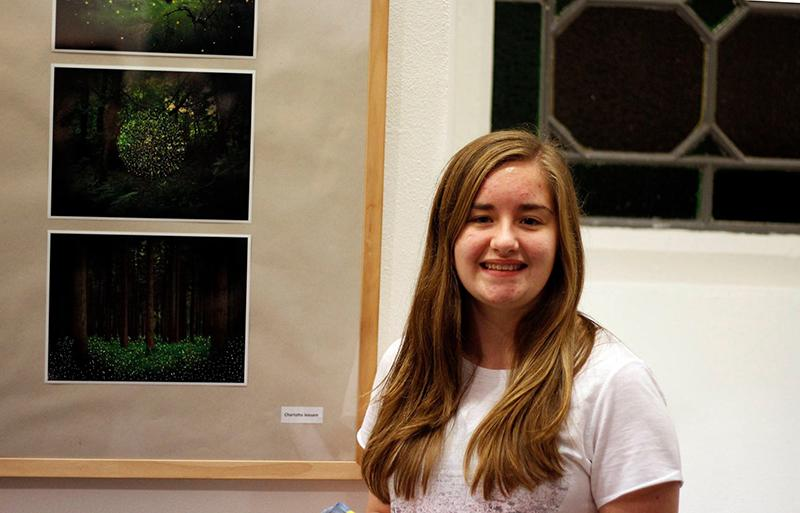 Rotary Young Photographer 2015 - Charlotte Leesam Winner of Young Photographer with her winning entry