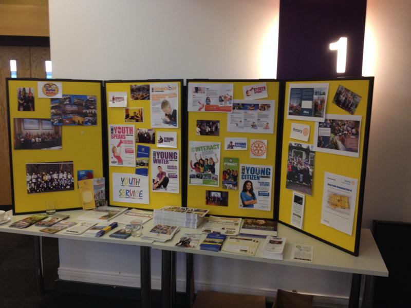 District Rotakids Conference 2014, Lancaster - Youth Activities Display