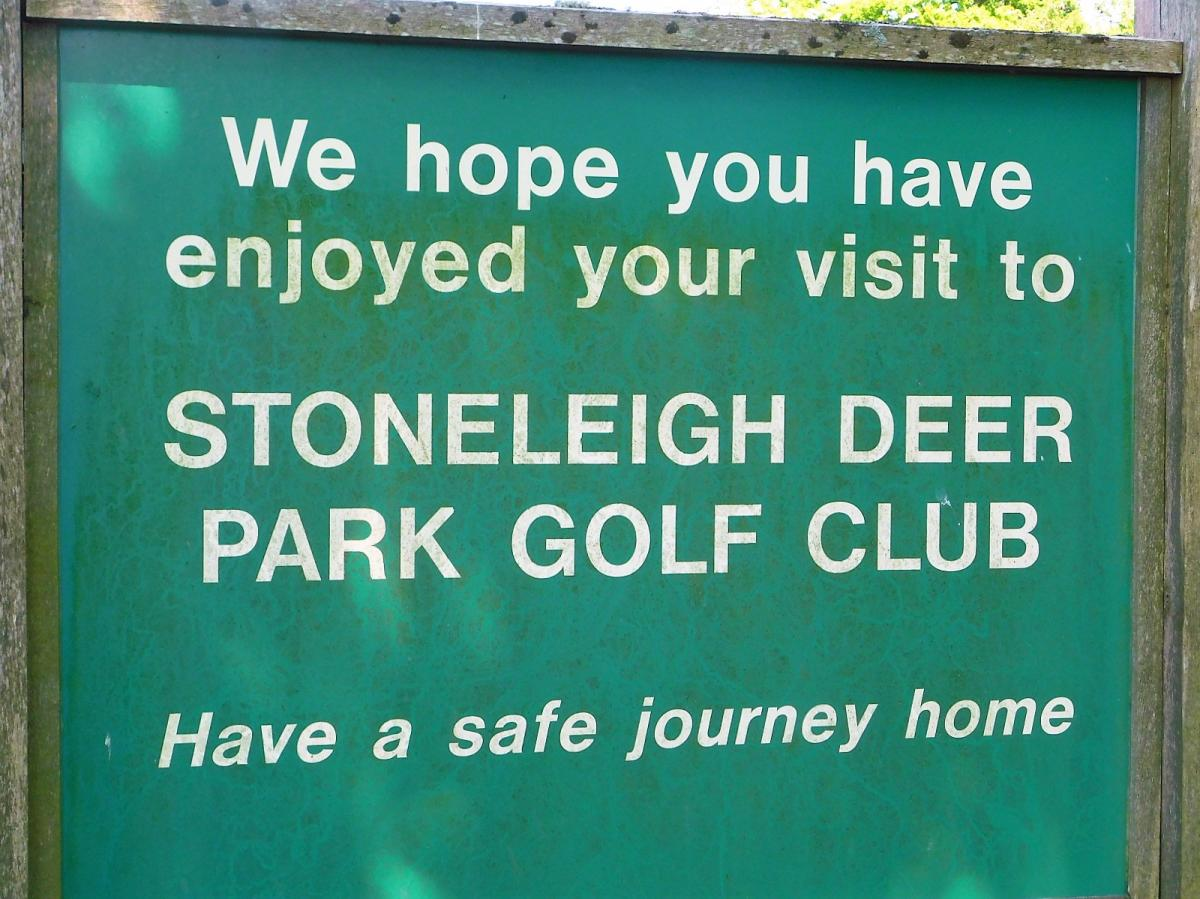 Golf Day at Stoneleigh Deer Park - May 15th 2018 - ZZ1
