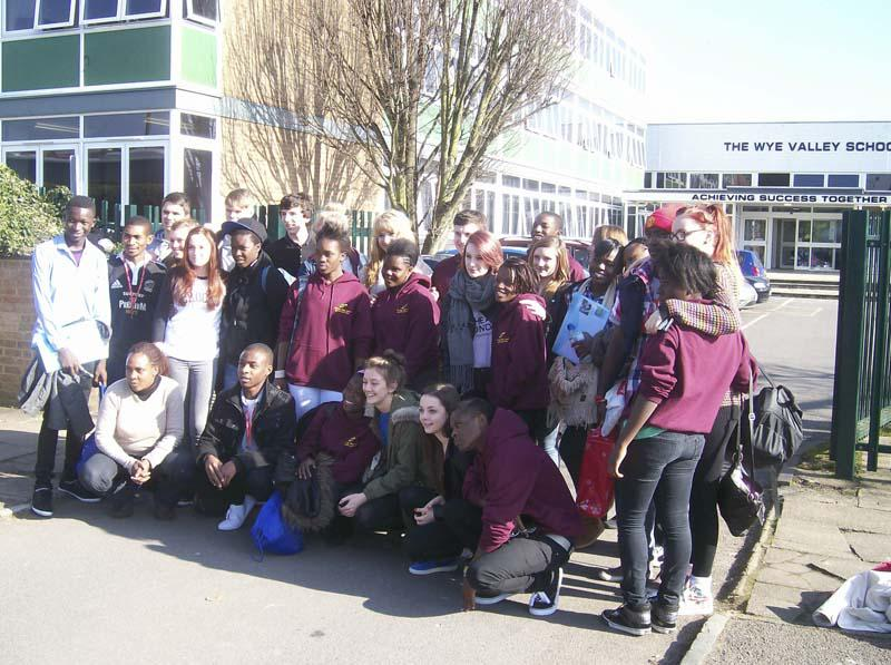 The Zambia Project goes from strength to stength - Tuesday: first full day at Wye Valley School