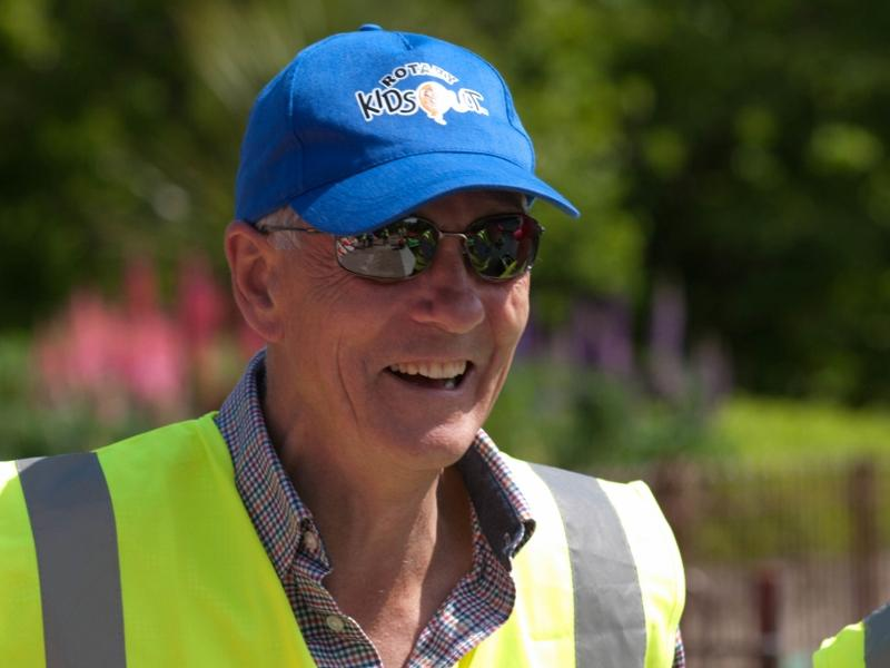 KidsOut 2015 -  Rotarian Mark Rossiter