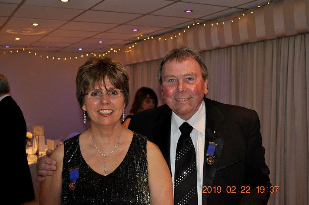 2019 - President's Party Night - Happy times was had by all who attend.
