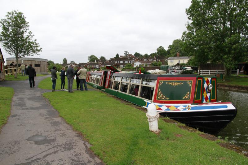 Tiverton Canal Barge Trip - 23 June 2013 - Rotary Club of