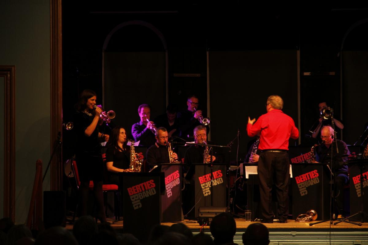 Bertie's Big Band - 12th March 2016 -