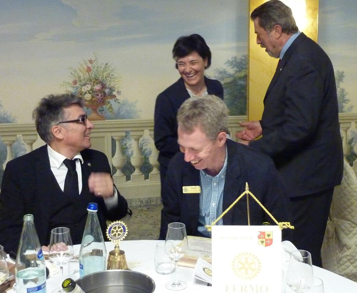 May 2017 4day Visit to Fermo Rotary Club, Italy - .