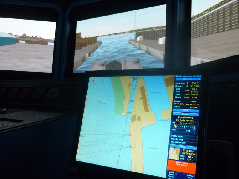 Visit to Lairdside Maritime Simulator - aRotary-Club-at-Southport-Links-Lairdside-1 1
