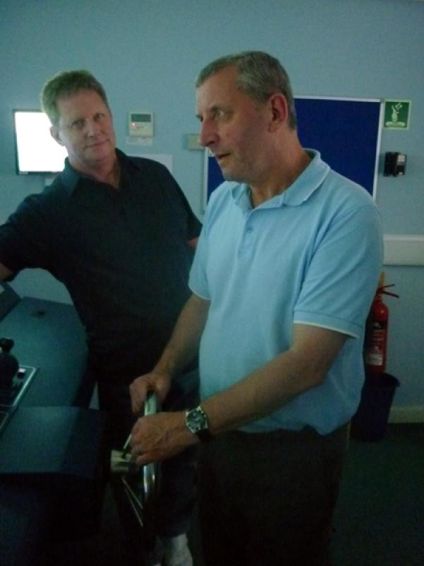 Visit to Lairdside Maritime Simulator - aRotary-Club-at-Southport-Links-Lairdside-2 1