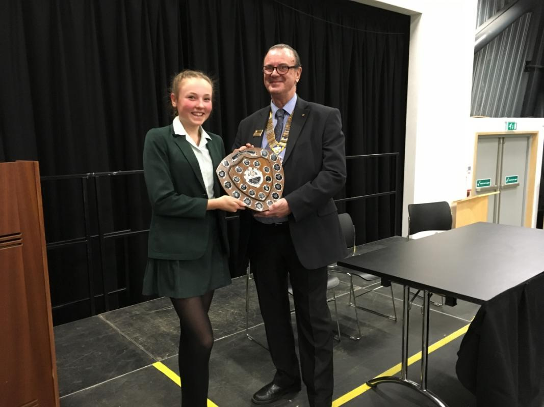 Highdown School - Youth Speaks competitions - Youth Speaks Competition 2017 Intermediate Section Abbey School winners of the Intermediate Section