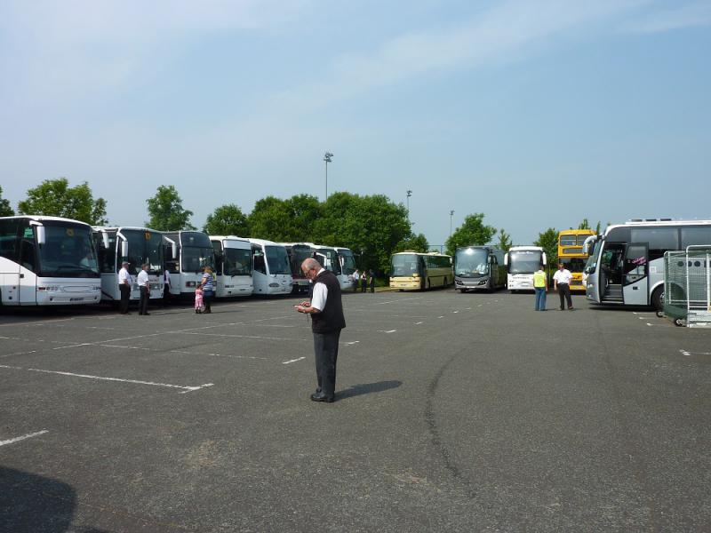 Jun 2013 Mini Olympics, Wilberforce Road. - all the coaches have found a tidy spot