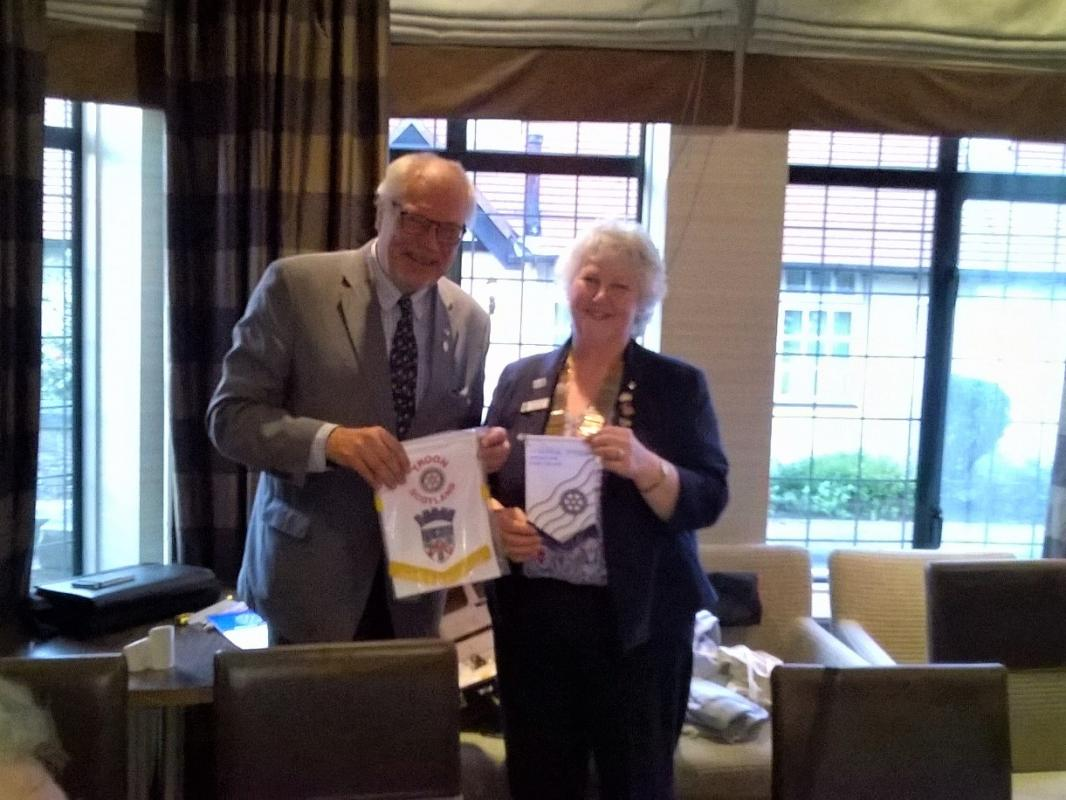 Visit from Rotarians from Pihtipudas and nearby , Finland -