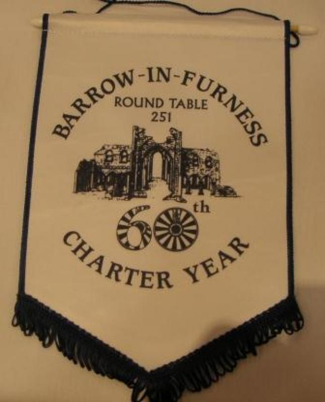 Banners - Barrow Round Table 60th Anniversary