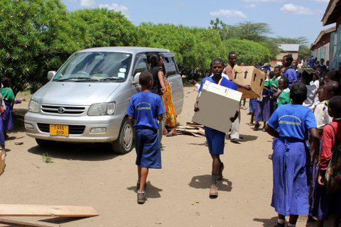Computers for Tanzania - final shipment released from customs! -