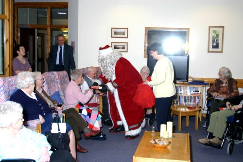 Care Home Christmas Carol Singers Visit 2012 -