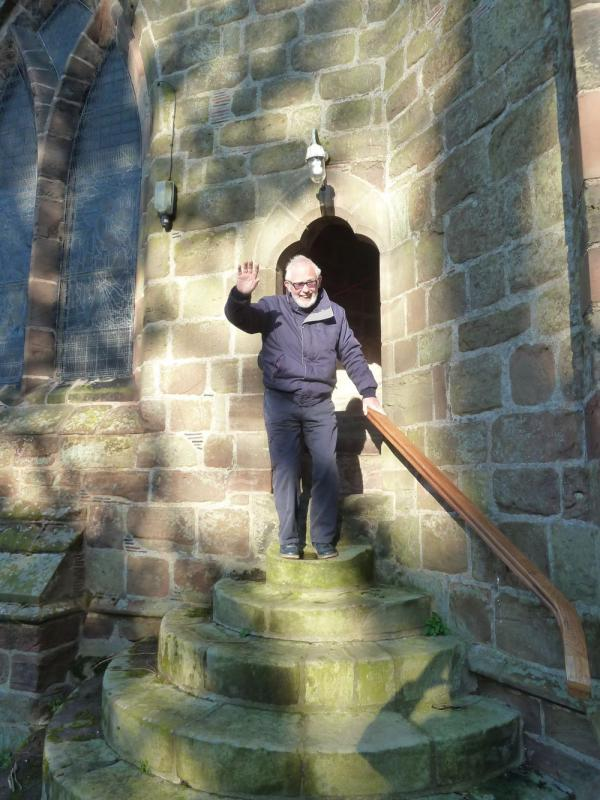 Bell Ringing at Eccleshall Holy Trinity Church -