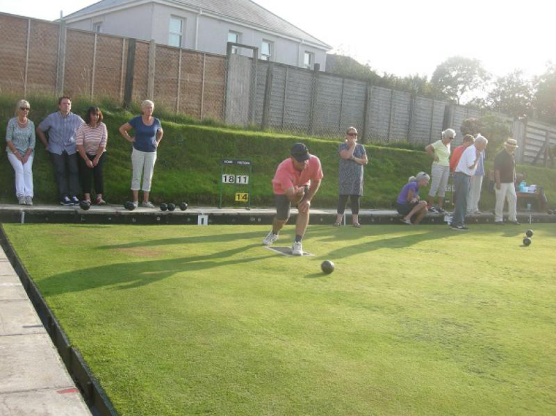 Interclub Bowls match - bosc10a