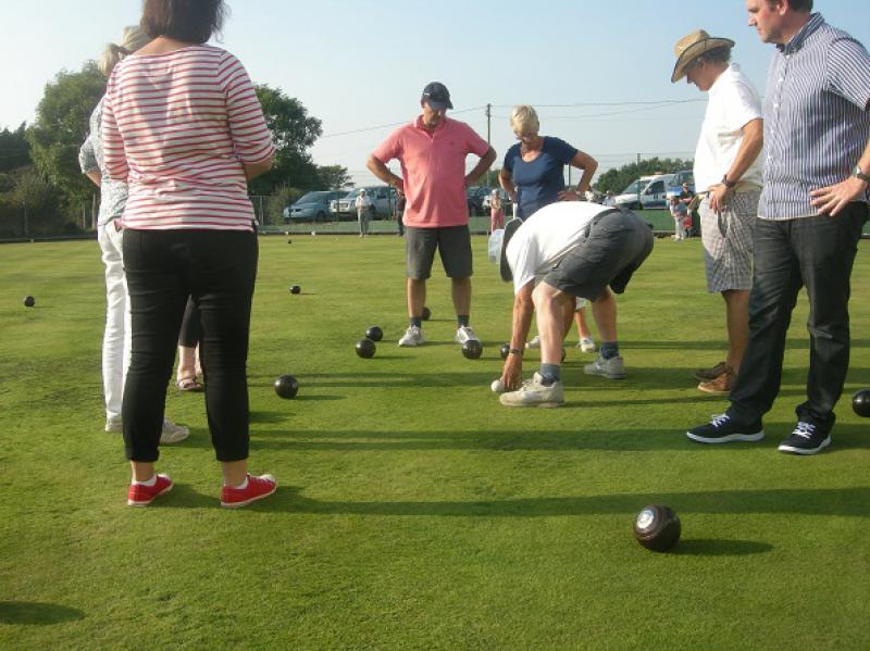 Interclub Bowls match - bosc12a