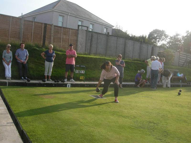 Interclub Bowls match - bosc14a