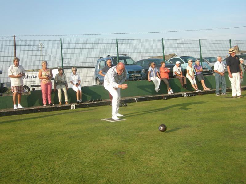 Interclub Bowls match - bosc3a