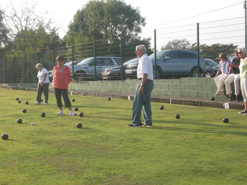 Interclub Bowls match - bosc8a