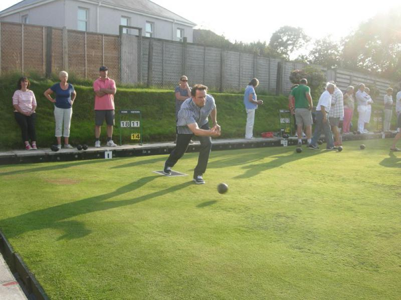 Interclub Bowls match - bosc9a