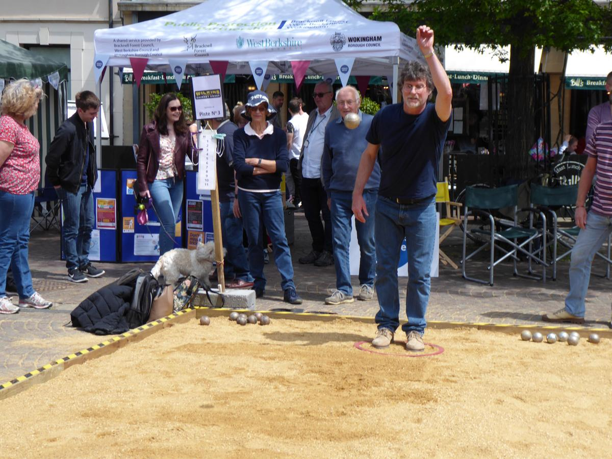 Boules in the Square 2019 -