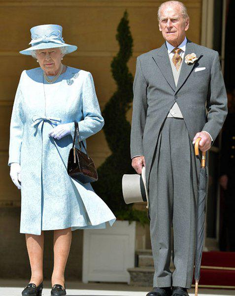 President at Buckingham Palace -