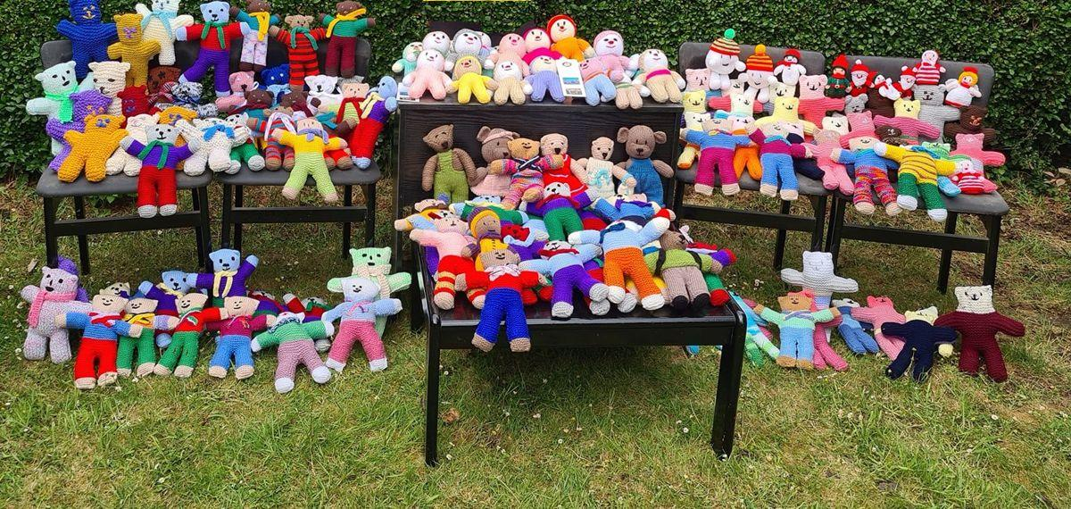 Teddy Bears for Buddy Bags Charity - to go to Buddy Bags Foundation