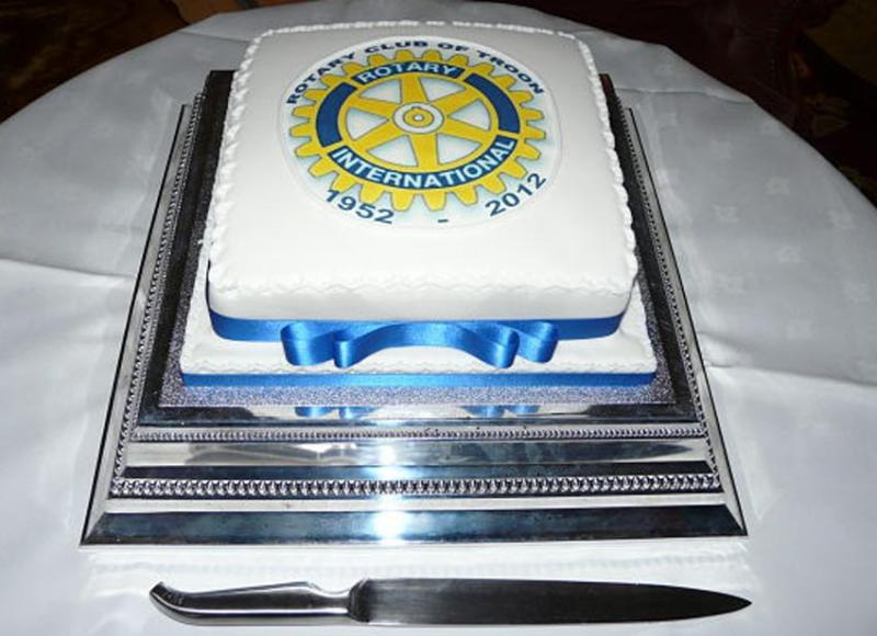 Charter  60 years on - a gift from Troon Rotary Ladies.