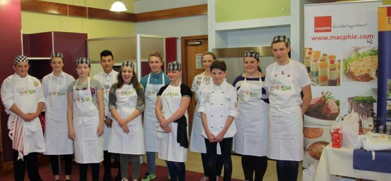 Young Chef District Competition 2016 - candidates 2