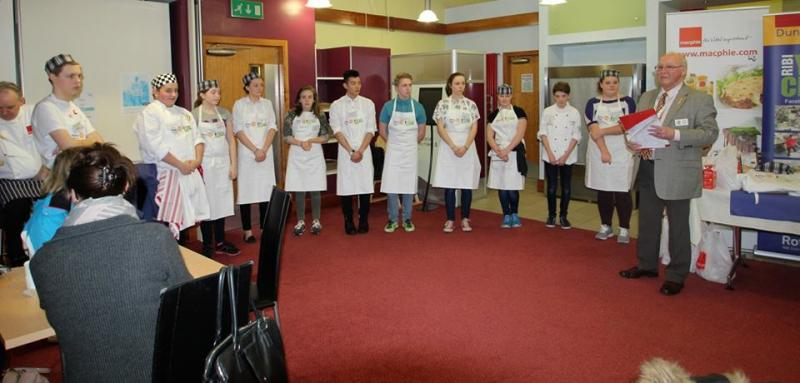Young Chef District Competition 2016 - candidates
