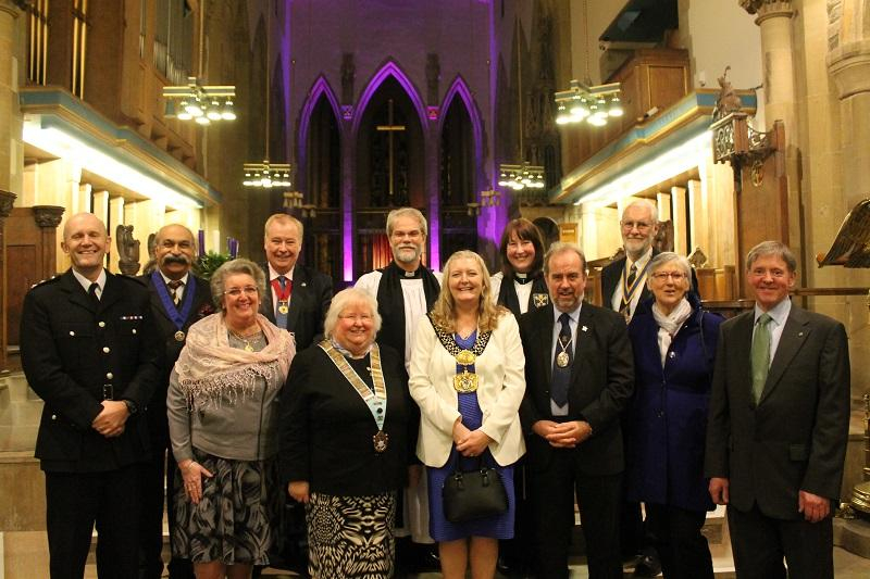 Bradford Rotary Carol Service December 9th 2015 - Now all at ease