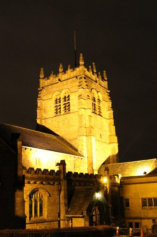 Bradford Rotary Carol Service December 9th 2015 - The Cathedral at night