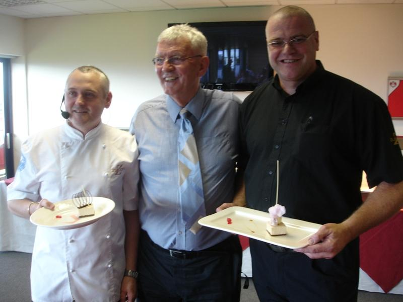 Social Evening with partners - celebrity chefs with sweets