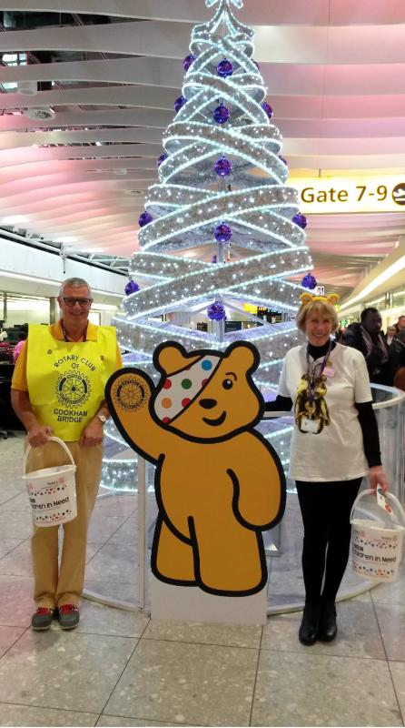 Community - Paul & Nancy Collecting at Heathrow