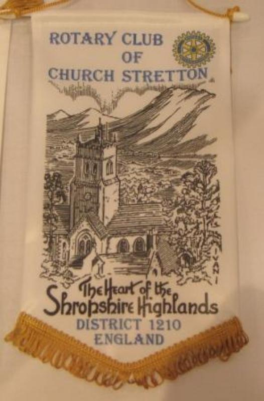 Banners - Church Stretton