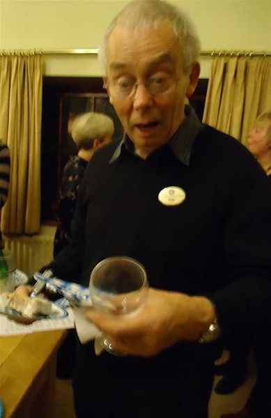 Bavarian wine tasting and buffet evening - It can't have been the wine Colin!