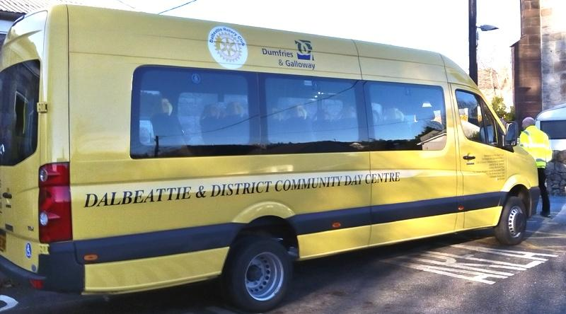New Bus for Dalbeattie Day Centre -
