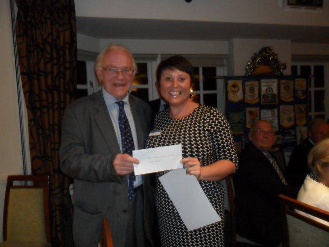 Cheque Presentation Evening - 17th September 2015 -